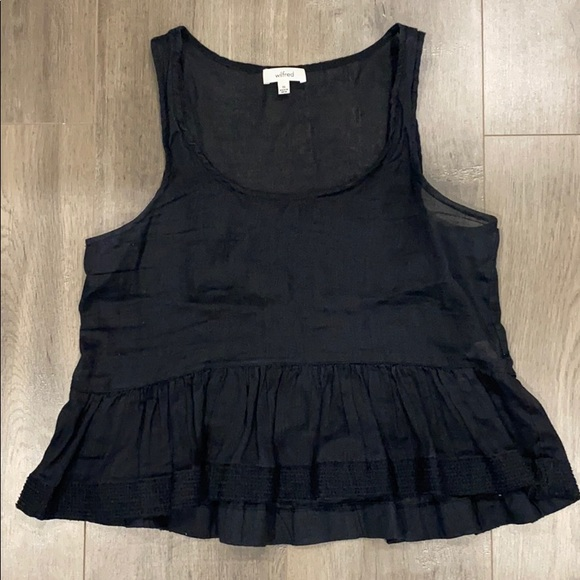 Wilfred Tops - XS Wilfred Black top